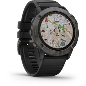 Garmin Fenix 6X Sapphire DLC Multisport Orologio intelligente GPS, black/slate grey